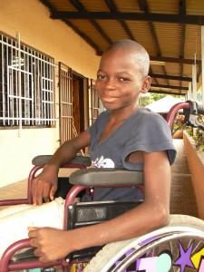 Pojke från sociala centret i Freetown